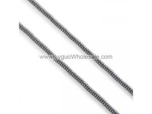 Non magnetic Hematite Beads, Triangle, black, 3x1mm, Hole:Approx 1mm, Length:Approx 15.7 Inch, Approx 383PCs/Strand, Sold By Strand