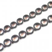 Non magnetic Hematite Beads, Donut,Grade A, Different size for Choice, Length:16 Inch, Sold By Strand