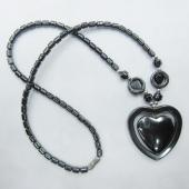 Hematite Beads Style Heart Shape Strands Pendant