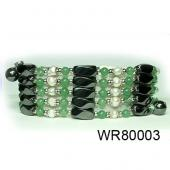 36inch Green Aventurine Pearl High Power Black Magnetic Hematite beads Pearl Bracelet Necklace Jewelry All in One Set