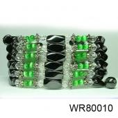 36inch Green Cat's Eye, Crystal,Magnetic Wrap Bracelet Necklace All in One Set
