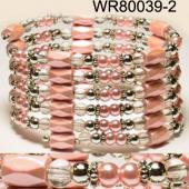 36inch light Plastic ,Glass,Magnetic Wrap Bracelet Necklace All in One Set